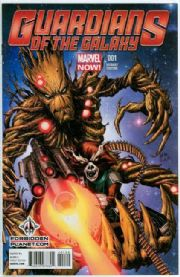 Guardians Of The Galaxy #1 Forbidden Planet Variant (2013) Movie Marvel comic book